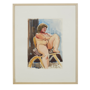 Painting, Ruth Rippon (b. 1927), Seated Figure