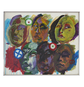 Painting, Six Faces