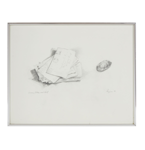 Graphite Drawing, Ruth Rippon,