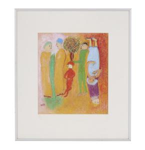 Pastel Painting, Margaret Maye,
