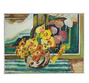 Painting, Laura Harrington, Flowers and Painting
