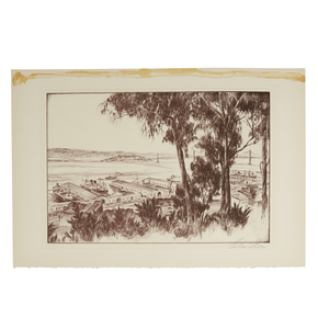 Two Prints of San Francisco, Alec Stern
