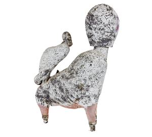 Ceramic, attributed Robert Brady (b. 1946), Hybrid Figure