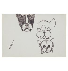 Seven Pet Drawings