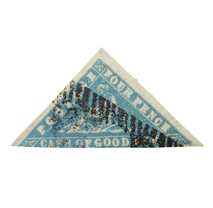 Certified and Expertized Stamp Printed by Saul Solomon and Co. (so-called