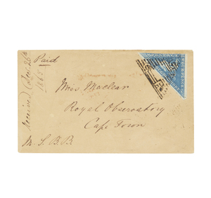 Postal History - Cover, #13, mailed 12/1863, excellent backstamps