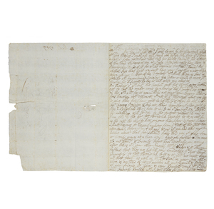 Postal History - Two Complete Mailed Letters, England, 1709 and 1710, Must See