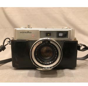 Minolta Hi-Matic 7S Camera with Rokkor 45mm 1:1.8 f Lense