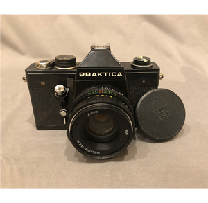 Parktica LTL3 35mm SLR Camera with 44mm 2/58 Lense