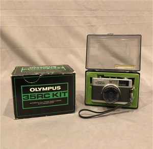 Olympus 35 RC 35mm Rangefinder Camera with 35mm Lens