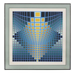 Lithograph, Victor Vasarely (1906-1997)