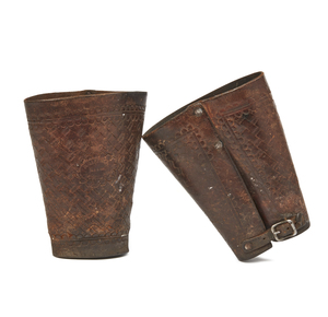 B. Gaffney Leather Cowboy Cuffs
