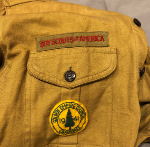 Boy Scouts of America Shirt and Hat
