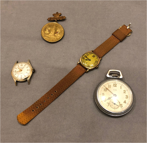 Assorted Watches and Medals