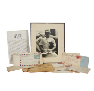 Cole Porter Signed Photograph, Correspondence and Ephemera Archive
