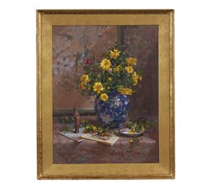Painting, Delbert Gish (b. 1936), Still Life