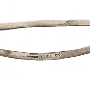 Three South West Silver Indian Barrettes