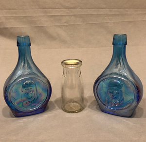 Three Decorative Lindberg Bottles