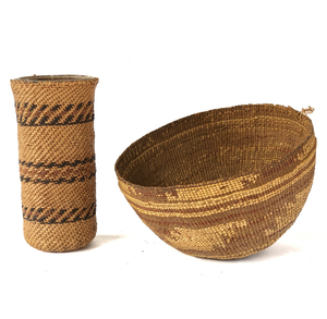 Two Indian Baskets