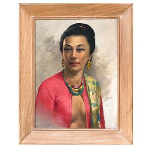 Crispin Lopez Portrait Painting