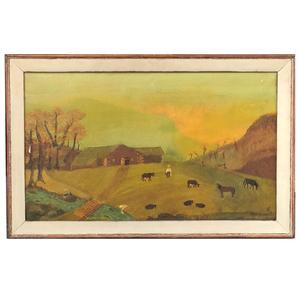 Philip Chebot Canadian Folk Painting