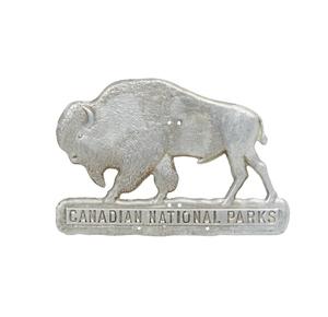 1925 Canadian National Parks Radiator Badge