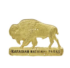 1927 Canadian National Parks Radiator Badge