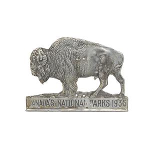 1935 Canadian National Parks Radiator Badge