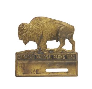 1939 Canadian National Parks Radiator Badge