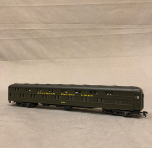 Bachmann Lighted Passenger Station and Rivarossi Train Cars