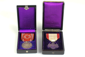 Two WWII Cased Japanese Orders and Medals