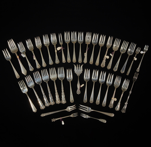 Assorted Silver Forks