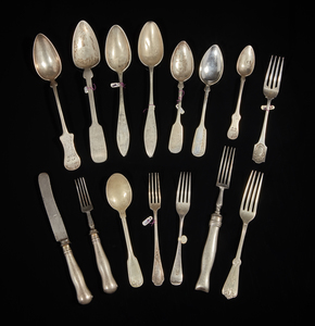 Assorted Silver Flatware