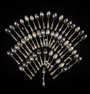 Assorted Sterling Silver Spoons