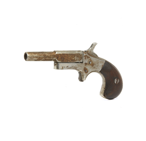 Single Shot Derringer in Two Pieces