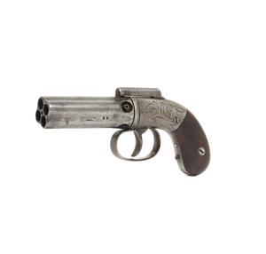 Allen and Wheelock Pepperbox Revolver