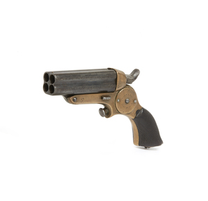 Starr's Patent 4-Barreled Pocket Pistol / Derringer