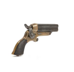 Starr's Patent 4-Barreled Pocket Pistol / Derringer