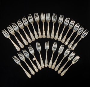 Assorted Sterling Silver Pie Forks