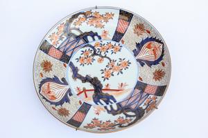 Late19th Century Imari Porcelain Plate