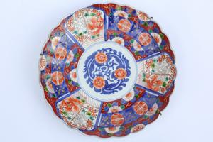 19th Century Imari Porcelain Plate