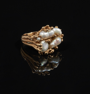 14k Fresh Water Pearl Ring