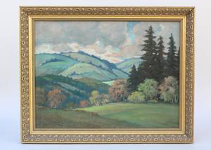 Clyde Leon Keller Painting