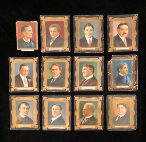 Late 19th and Early 20th Century Theater Themed Cigarette Cards