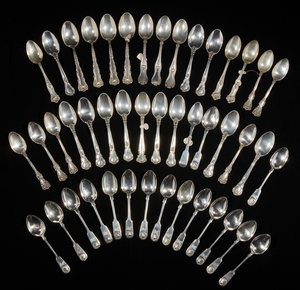 Assorted Sterling Silver Teaspoons