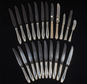 Sterling Silver Handled Knives