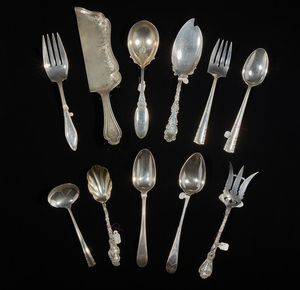Assorted Sterling Silver Serving Pieces