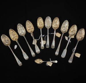 Assorted Sterling Berry Spoons
