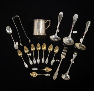 Assorted Coin Silver Flatware