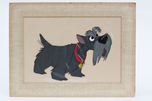 Original Celluloid Drawing for Disney's Lady and the Tramp